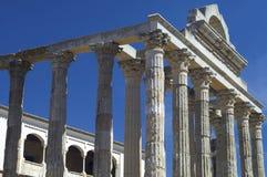 Templo romano de Diana Imagenes de archivo