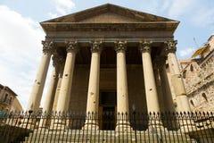 Templo romano de Vic Foto de archivo libre de regalías