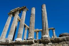 Templo romano del 1r siglo antiguo Fotografía de archivo