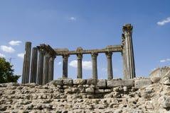 Templo romano, en Evora - Portugal Fotos de archivo