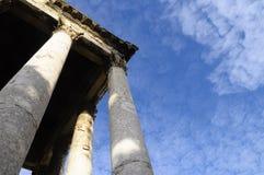 Templo romano en las pulas, Croacia Fotos de archivo