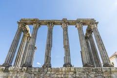 Templo romano en vora del ‰ de à Foto de archivo