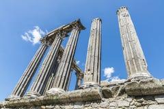 Templo romano en vora del ‰ de à Fotografía de archivo libre de regalías