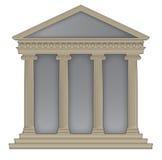 Templo romano/griego Imagen de archivo