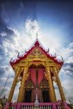 Templo rosado en Tailandia Foto de archivo
