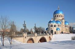 Templo ruso Imagen de archivo libre de regalías
