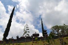 Templo sacro de Bessakih en la isla de Bali Imágenes de archivo libres de regalías
