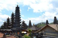 Templo sacro de Bessakih en la isla de Bali Fotos de archivo libres de regalías