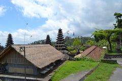 Templo sacro de Bessakih en la isla de Bali Imagen de archivo