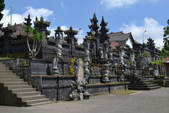 Templo sacro de Bessakih en la isla de Bali Imagenes de archivo