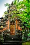 Templo sagrado viejo de Raditional en Ubud Bali Indonesia foto de archivo