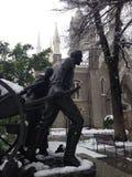 Templo Salt Lake City cuadrado Utah Foto de archivo