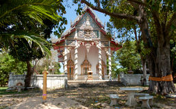 Templo Samui de Wat Bo Phut, Tailândia Fotos de Stock Royalty Free
