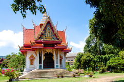 Templo Samui de Wat Bo Phut, Tailândia Fotografia de Stock