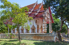 Templo Samui de Wat Bo Phut, Tailândia Imagem de Stock
