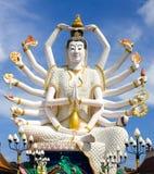 Templo Samui de Wat Plai Laem Fotos de Stock Royalty Free
