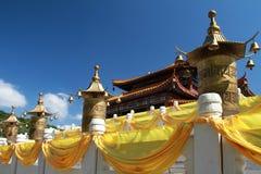 Templo Sanya de Nanshan Foto de archivo
