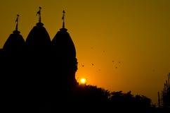 Templo Senset Imagens de Stock Royalty Free