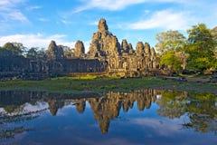 Templo Siem Reap Camboja da cuba de Angkor fotos de stock