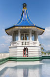 Templo Sri Lanka da caverna de Dambulla Foto de Stock