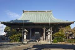 Templo sub del templo de Honmyo-ji, un templo budista de la secta de Nichiren fotos de archivo libres de regalías