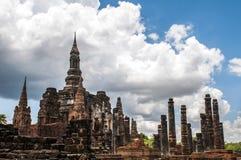 Templo Sukhothai imagenes de archivo