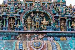 Templo sul de Madurai Thiruparankundram Murugan da Índia fotos de stock
