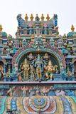 Templo sul de Madurai Thiruparankundram Murugan da ?ndia fotografia de stock royalty free