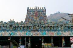 Templo sul de Madurai Thiruparankundram Murugan da ?ndia foto de stock
