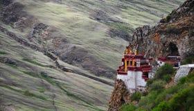 Templo, Tíbet Foto de archivo libre de regalías