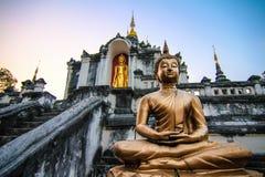 Templo Tailândia de Lamphun Imagens de Stock