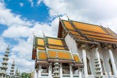 Templo Tailândia de Suthat Fotografia de Stock Royalty Free