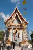 Templo tailandés fotografía de archivo