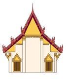 Templo tailandés ilustración del vector