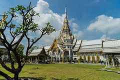 Templo tailandés de Buda Foto de archivo libre de regalías