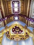 Templo tailandés de los techos de catedral Fotografía de archivo libre de regalías