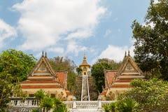 Templo tailandés de Mondop Fotos de archivo libres de regalías