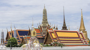 templo tailandés del watprakeaw Foto de archivo