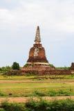Templo tailandés en Ayutthaya en Tailandia Fotografía de archivo