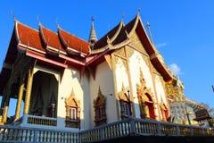 Templo tailandés en el chiangmai, Tailandia Fotos de archivo