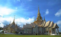 Templo tailandés en el noreste Fotos de archivo