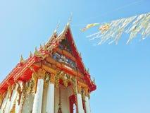 Templo tailandés en Tailandia Foto de archivo
