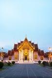 Templo tailandés hermoso Wat Benjamaborphit Fotografía de archivo libre de regalías