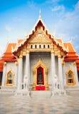 Templo tailandés hermoso Wat Benjamaborphit, templo en Bangkok, Tha Foto de archivo libre de regalías