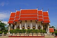 Templo tailandés; templo del budhist en Bangkok Imagen de archivo
