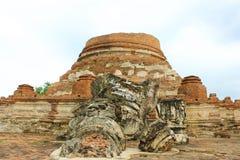 Templo tailandés viejo Fotografía de archivo libre de regalías