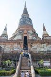 Templo tailandés Watyaichaimongkol Imagenes de archivo
