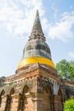 Templo tailandés Watyaichaimongkol Imagen de archivo