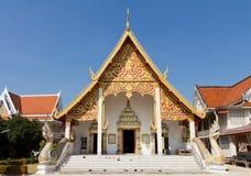 Templo tailandês bonito foto de stock