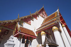 Templo tailandês em ayutthaya Imagens de Stock Royalty Free